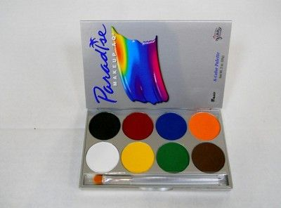 Looking for bright, long-lasting color that's actually GOOD for your skin? Look no further! Mehron's water-activated Paradise cake makeup is a favorite among professional face-painters and make-up art