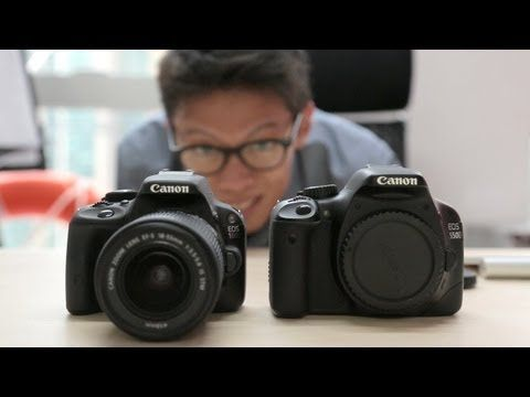 #CanonEOS100D / Rebel SL1 Hands-on Review