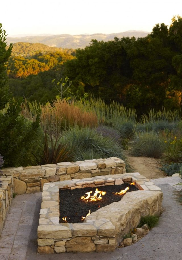 Contemporary Outdoor Fire Pit Design Pictures Remodel