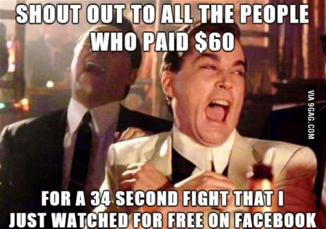 Seriously, thank you for that free preview. That Ronda Rousey fight was epic!