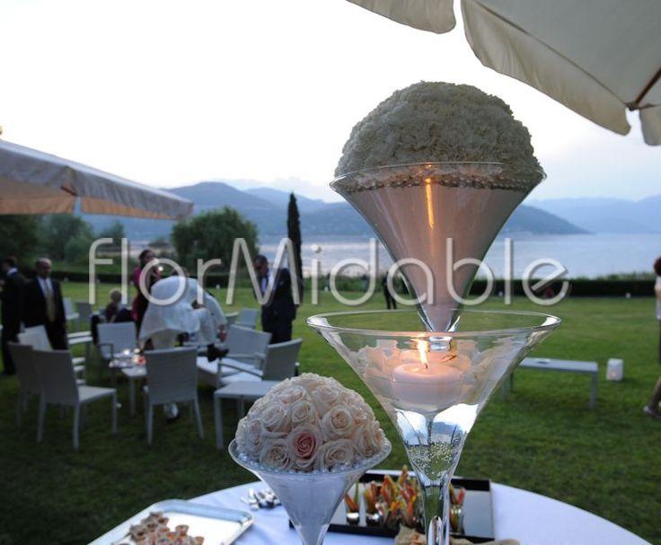 Ricevimento elegante bianco e avorio - Ph. Claudio Trasforini