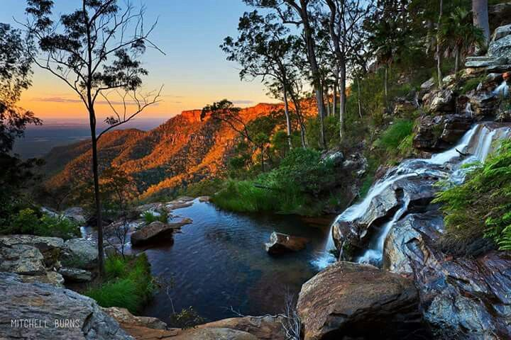 Two Mile Falls, Blackdown Tablelands NP, QLD