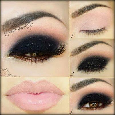 Maquillaje para noche y mas formal.