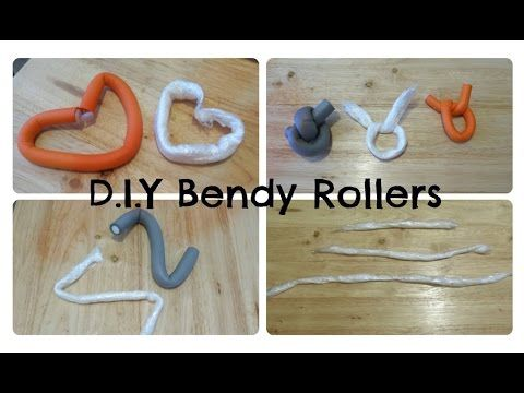 DIY | Bendy Rollers / Flexi Rods | Jae Leon - YouTube