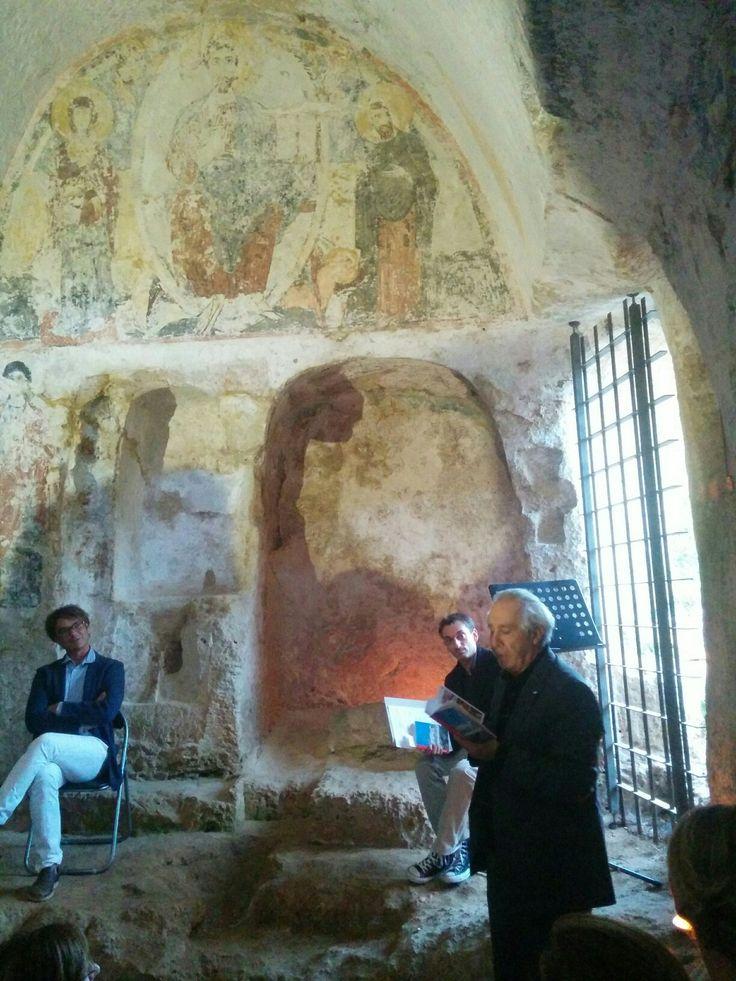 Lino Angiuli legge uno dei suoi scritti...tutto #madeInPuglia