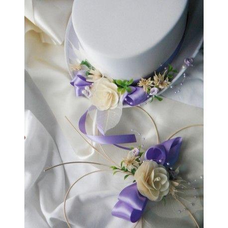 sada na auto pro nevěstu i ženicha