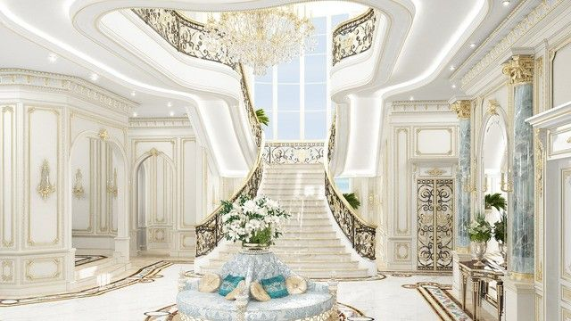 Royal Villa Design In Uae Villa Design Beautiful Houses