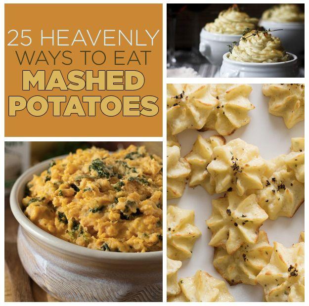 25 Heavenly Ways To Eat Mashed Potatoes