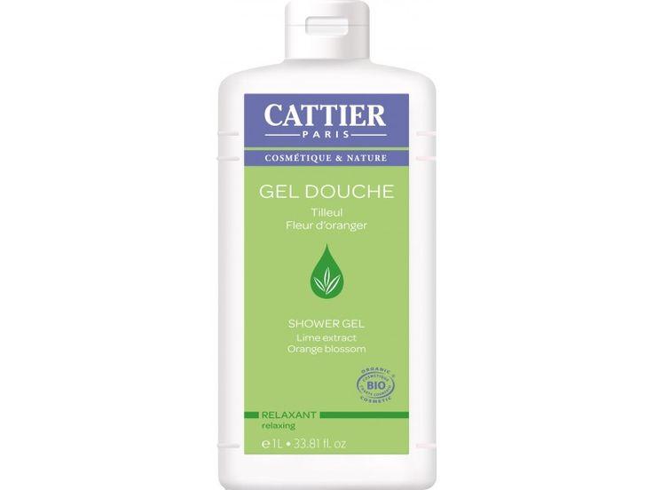 Cattier – Gel de dus relaxant cu floare de Portocale(1L)