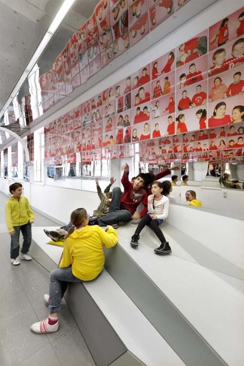 School Design | Educational Spaces | interior-design-of-erika-mann-elementary-school