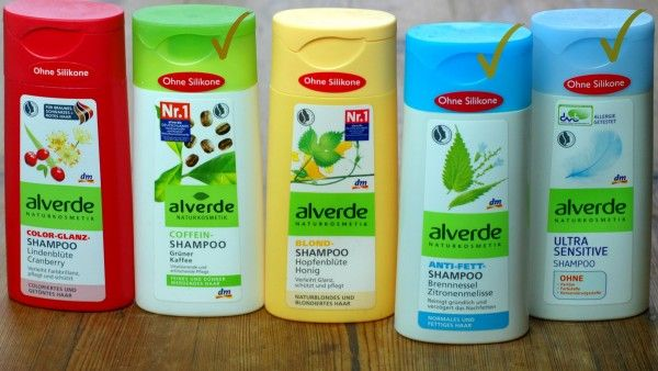 natural Shampoo for dry hair, without Silicon
