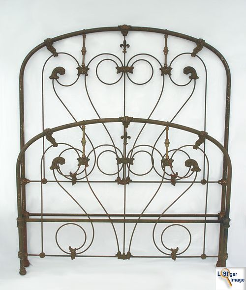 259 Best Wrought Iron Amp Brass Beds Images On Pinterest