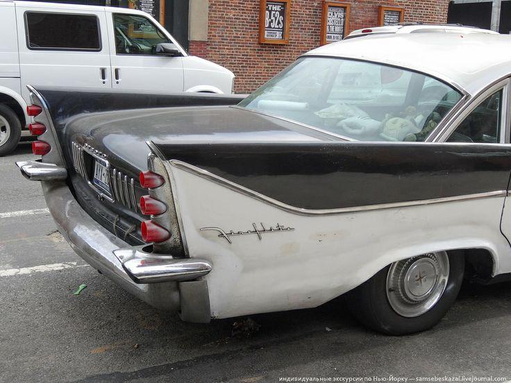 Старые автомобили на улицах Нью-Йорка - 18