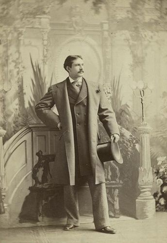 Dashing Victorian gentleman