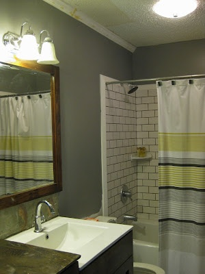 197 Best Images About Gray Amp Yellow Bathroom Ideas On