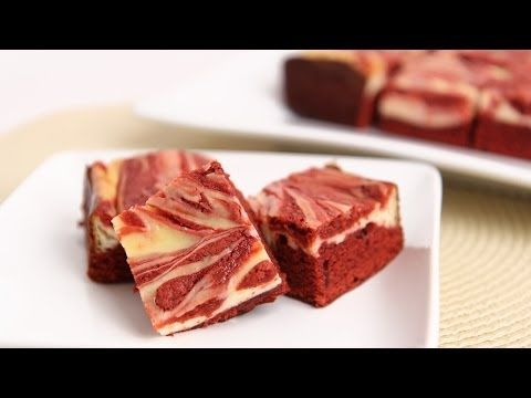 Red Velvet Cheesecake Brownies Recipe| Laura in the Kitchen