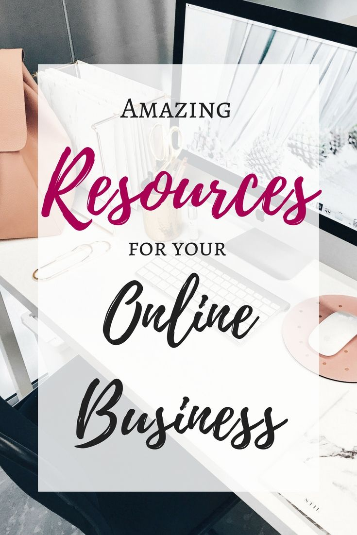 A list of everything you need to quickly and easily set up your online business!
