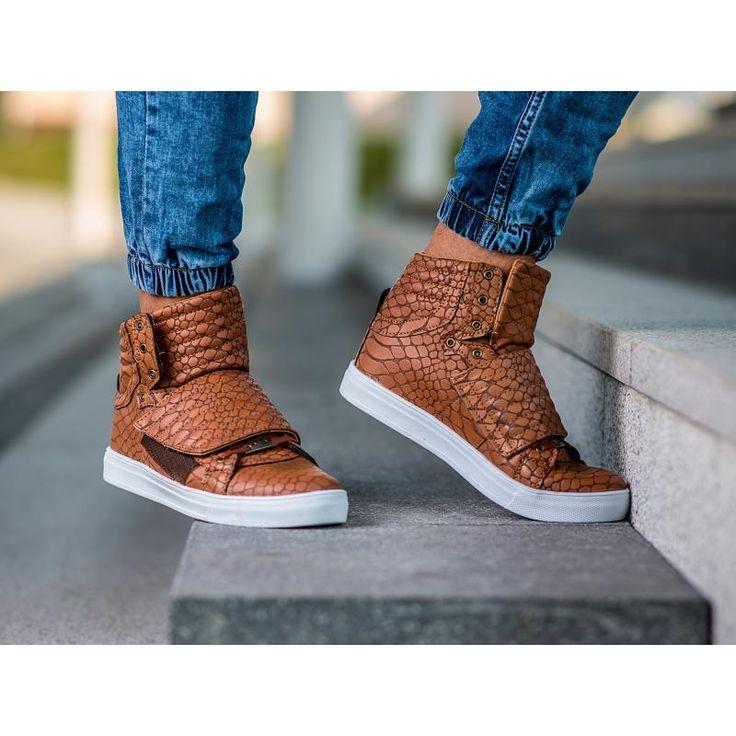 Pánske štýlové členkové topánky