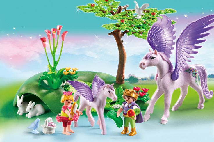p unicorn jewel castle  playmobil collectors club