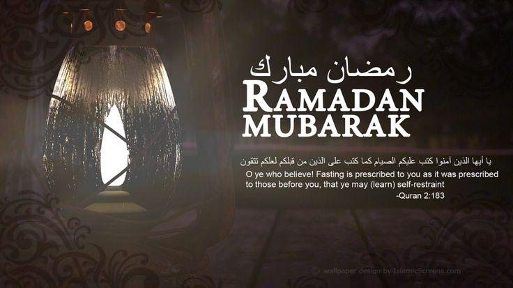 Ramadan Mubarak 1 | IslamicScreens: Islamic wallpapers in HD