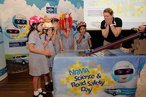 Science shows delivered by Fizzics Education helped the National Roads & Motoring Association create new ways of teaching road safety and science together! #fizzics #safety #edchat #nrma www.fizzicseducation.com.au