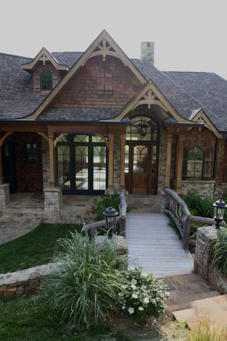 This website has some nice ranch style house plans www for Timber frame ranch home plans