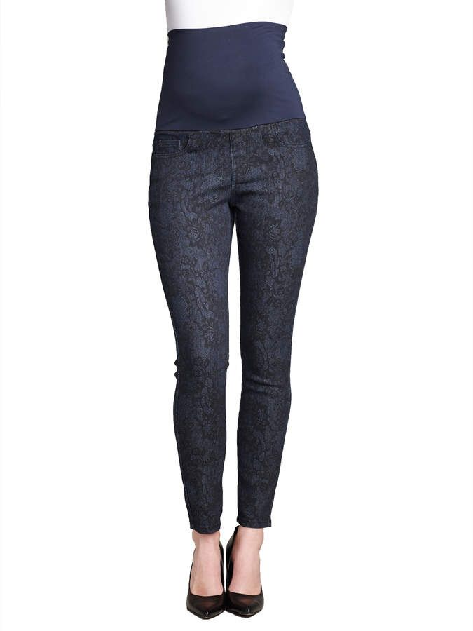1c57a4a07925a Maternal America Lace Skinny Jean. #ad | Things to Wear | Skinny ...