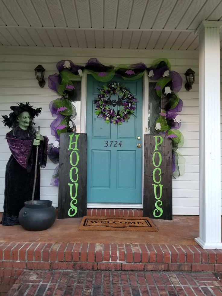 halloween front porch decorations halloween witch decorations hocus pocus halloween decor