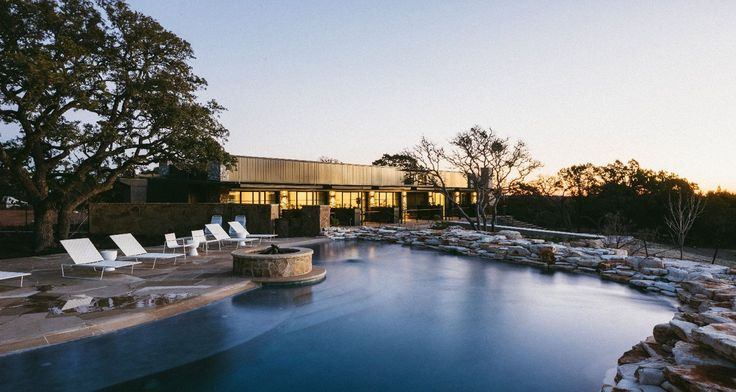 Oohla Bean driftwood resort near Austin, Texas