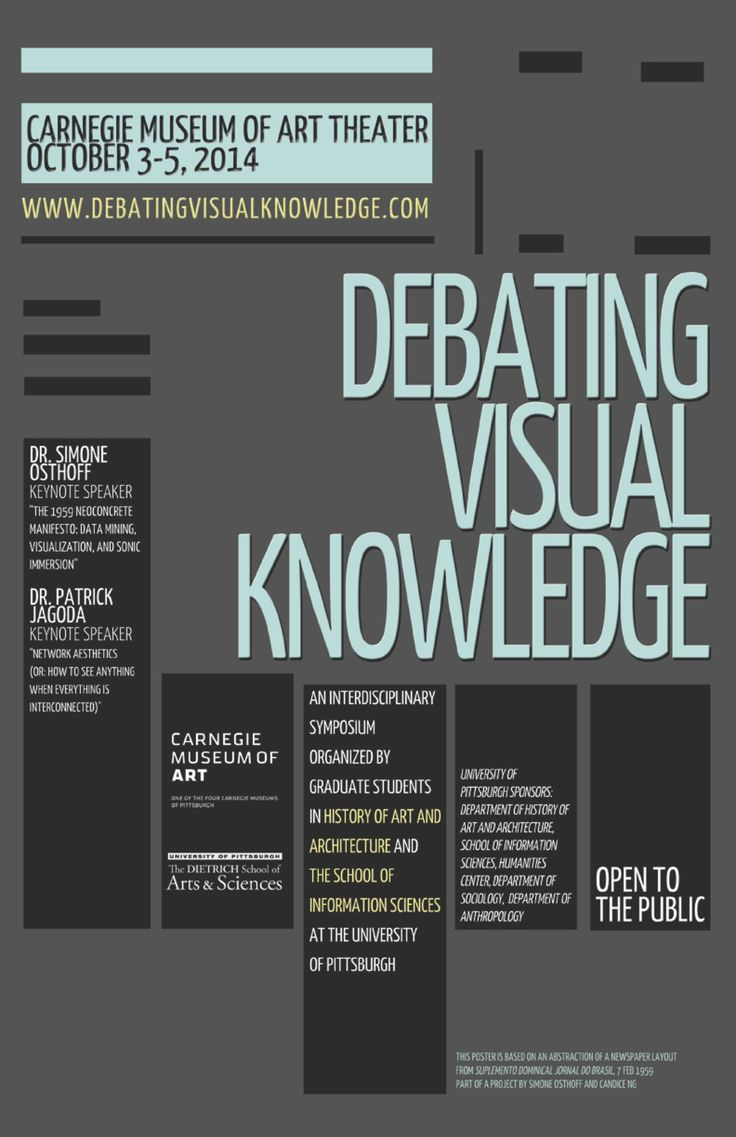 Poster design history - Art History Symposium Poster Google Search