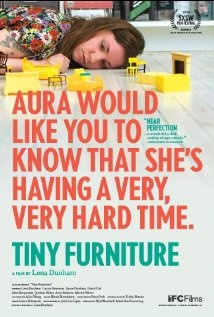 Tiny Furniture - directed by Lena Dunham.  Entertaining enough, if a little abrupt and aimless.  I watched this while I was doing other things, and found it okay, although I definitely got the feeling that I would have been a little disappointed if I was paying any more attention to it.