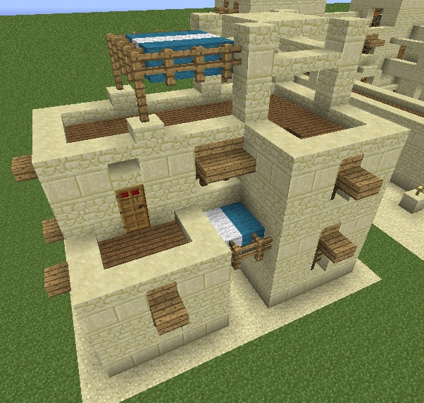 Minecraft Village Japan – Jerusalem House