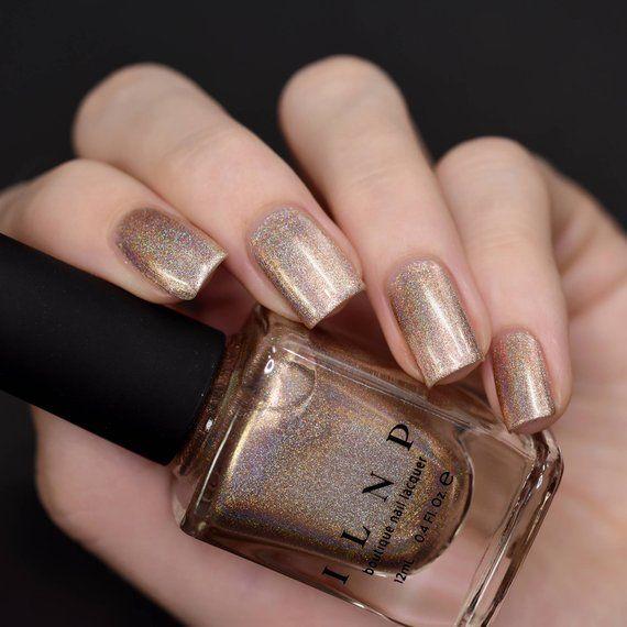 Countdown – Champagne Gold Holographic Nail Polish