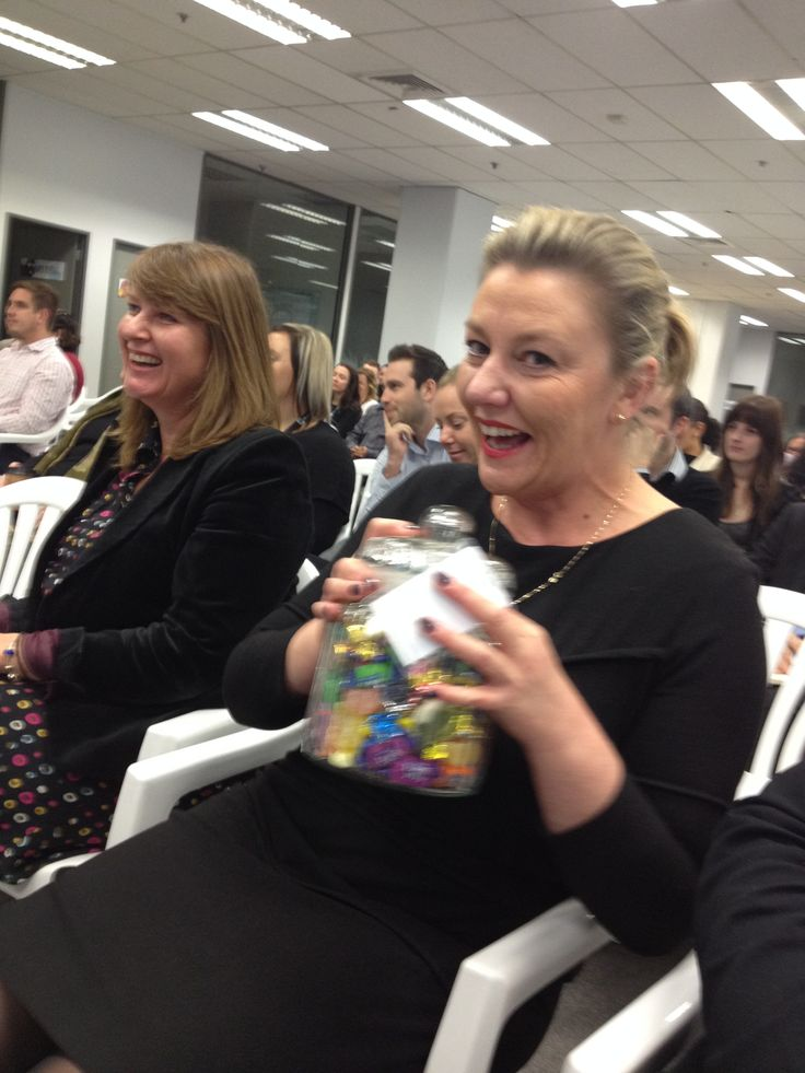 Kim Ancell...won the Team Pahi lolly competition in support of #Starship