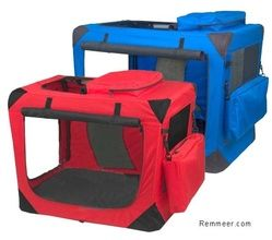 Collapsible Dog Crates - Portable Soft-sided Folding Dog Crate