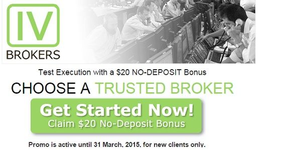 Test Execution with a $20 No-Deposit Bonus IV Brokers
