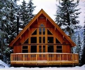 Best 25 a frame cabin ideas on pinterest a frame house for Small a frame cabin plans with loft
