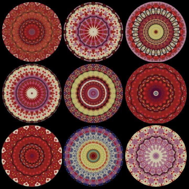 Mandala mosaic, from Mandalas Indigo, follow us on facebook. Siguenos en facebook...somos Mandalas Indigo