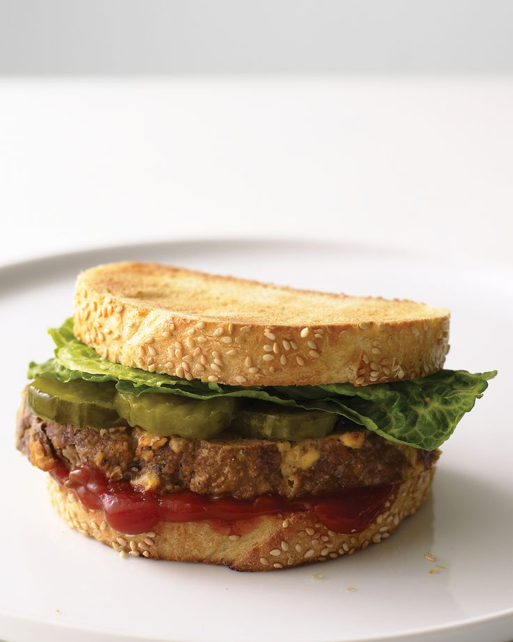 Meatloaf Sandwiches Martha Stewart Living Ground Chuck Enhanced With Horseradish And Sharp Cheddar Cheese