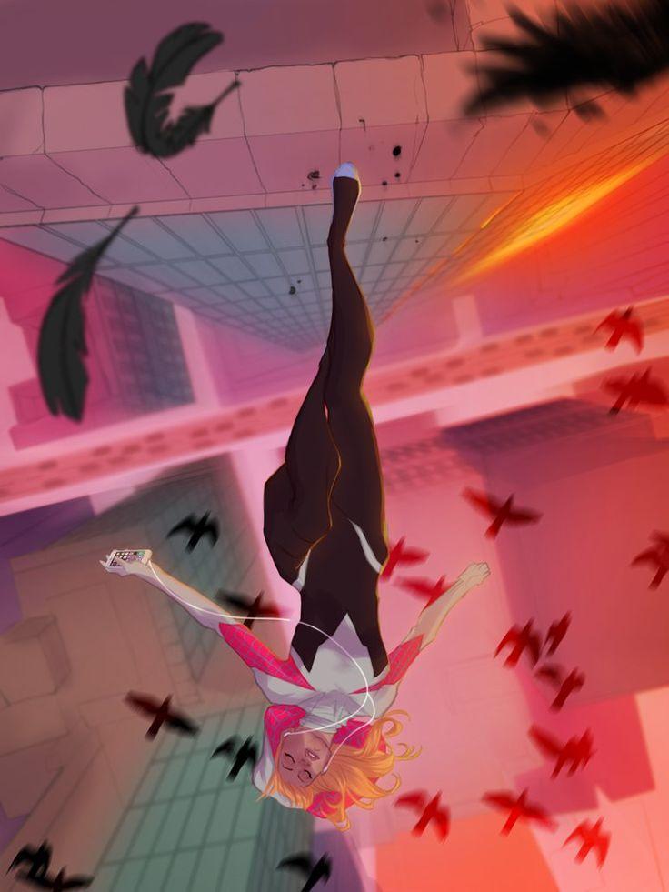 Spider Gwen by UltimateTattts on DeviantArt