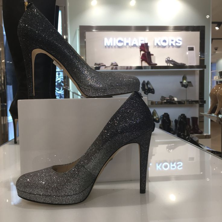 Michael Kors pumps for the party season Image captured at Stockmann Helsinki flagship store