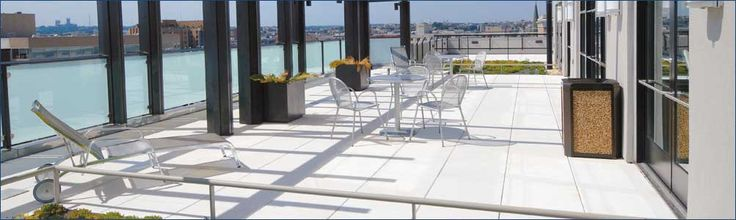 Roof Garden - Hanover Pavers