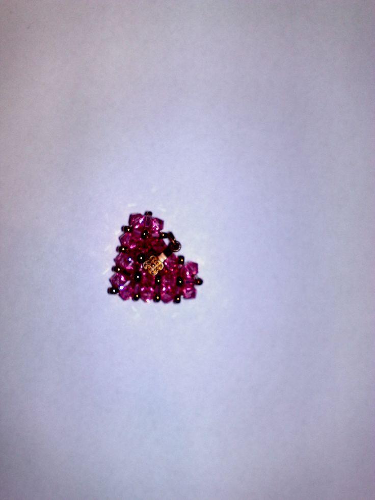 rózsaszín szívecske