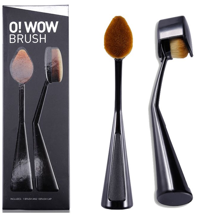 2.92$  Watch here - 2017 Brand CosmeticsToothBrush Shape Oval Makeup Brush with Cap Brushes Hair Kit  Maquillage Multipurpose Make Up Tools Base   #buychinaproducts