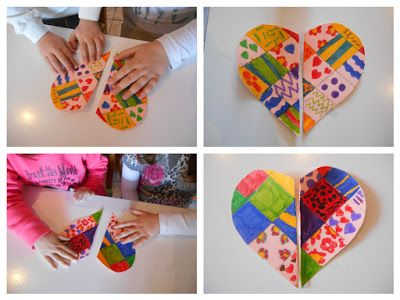Kindergarten Art Class: ΤΙΚ -ΤΑΚ ΧΤΥΠΑΕΙ Η ΚΑΡΔΟΥΛΑ ΜΑΣ!
