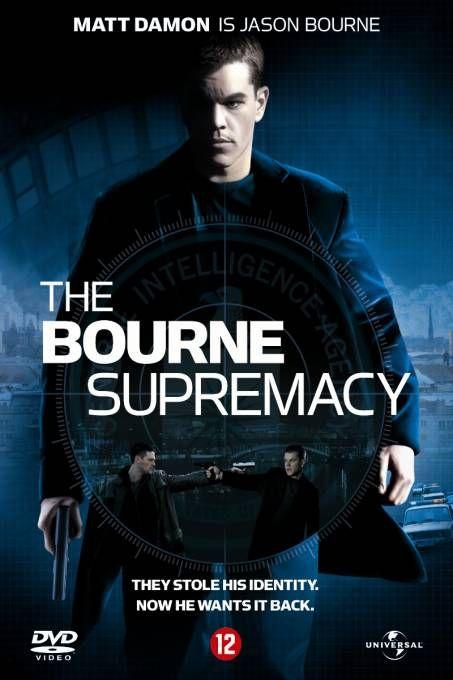 The Bourne Supremacy  Description: Oscar-winnaar Matt Damon is weer op de vlucht als Jason Bourne de door de CIA opgeleide moordmachine. Bourne lijdt aan geheugenverlies en heeft zijn gewelddadige verleden verruild voor een doorsnee bestaan met zijn vriendin Marie. Zijn plannen voor een rustig leventje gaan echter in rook op als hij ternauwernood ontsnapt aan een moordaanslag. Opgejaagd door een onbekende vijand laat Bourne zien dat hij geen gemakkelijk doelwit is en dat niemand zijn…