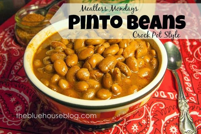 and healthy PINTO BEANS. Best recipe ever...: Crock Pot, Recipe, Bean ...