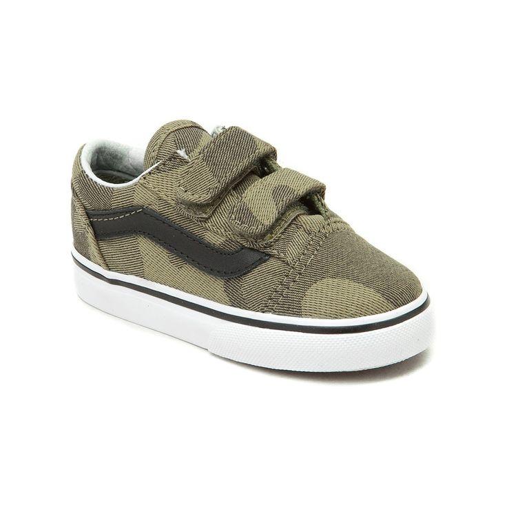 toddler vans old skool v camo skate shoe baby boy