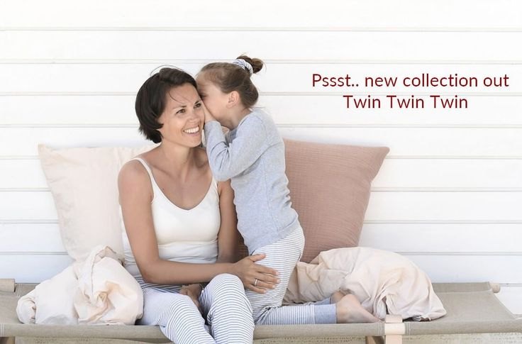 Shop new twinning collection. Cutest pyjamas and nighties in organic cotton.