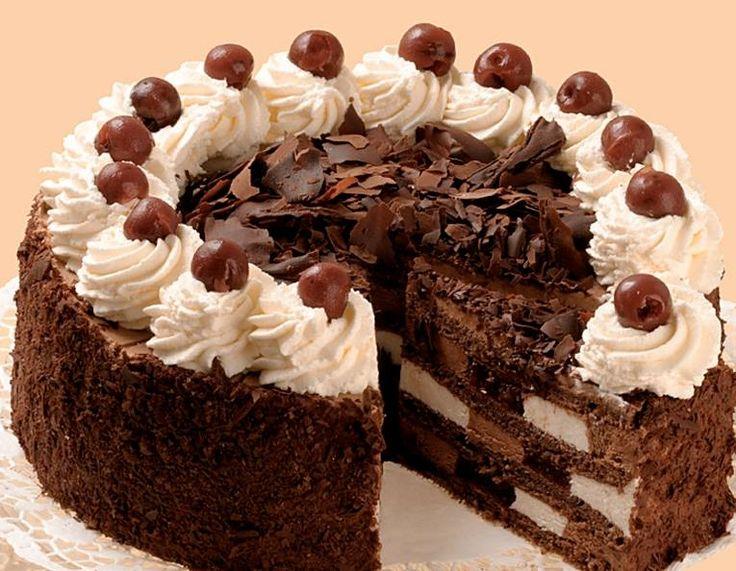 Szamos fekete erdő torta